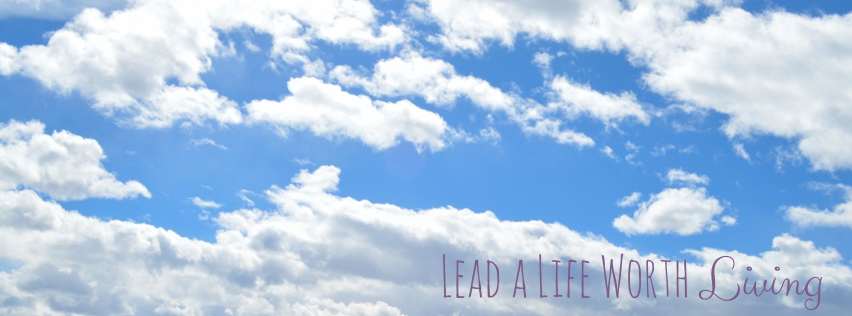 Lead a Life Worth Living cover photo