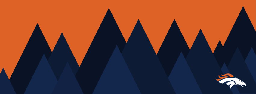 denver broncos mountain facebook cover