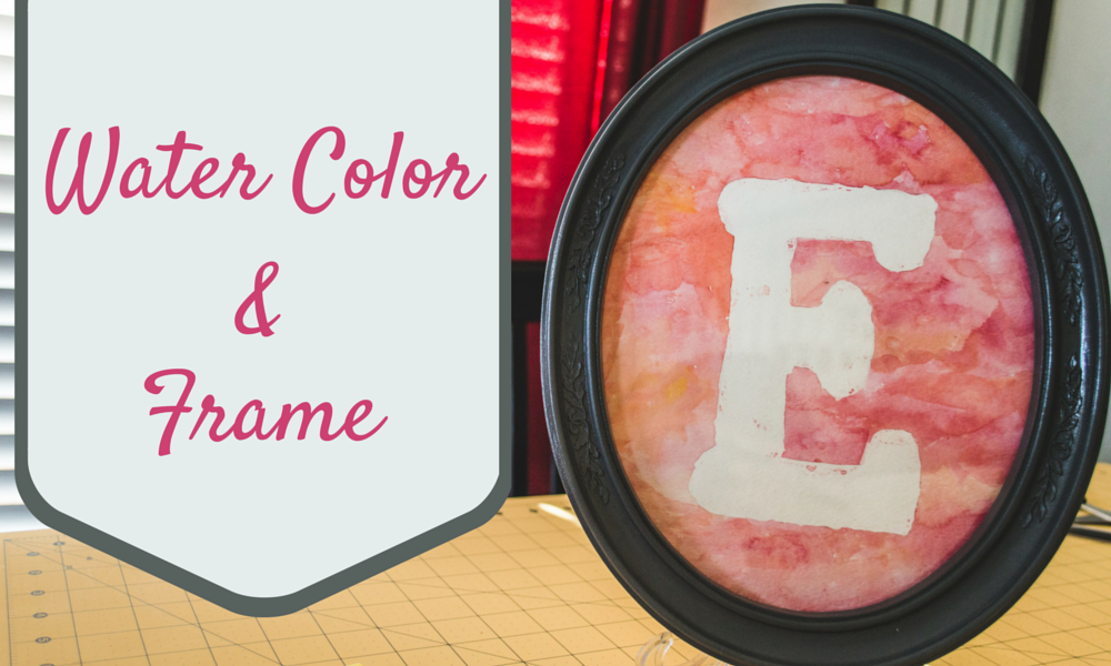 Water Color and Frame Colorado Anne